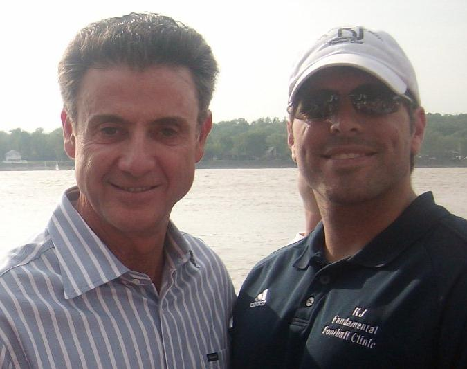 KJ Fundamental Football Clinic Guest Speaker Rick Pitino